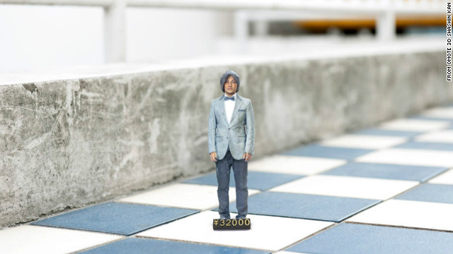 3-D photo booth makes a miniature you
