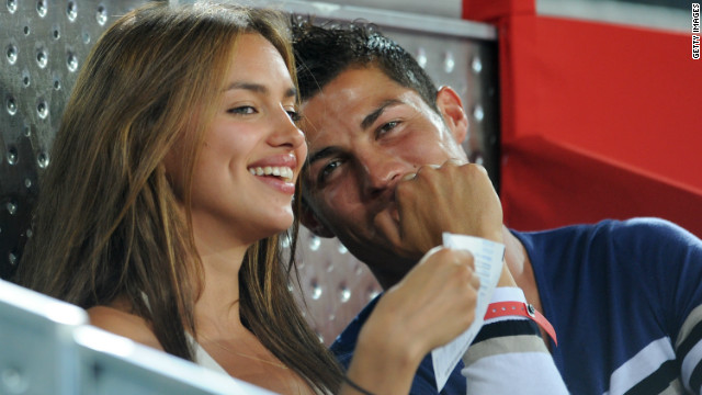 """We are just partners,"" Ronaldo told CNN when asked about his relationship with Shayk. ""We have a good relationship, we are almost three years together, I love to be with her, I love her. It's great."""