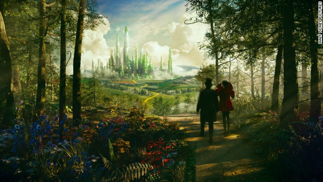 Watch: New 'Oz: The Great and Powerful' trailer