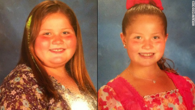 Breanna Bond weighed 186 pounds when she was just 9 years old. In under a year, she's dropped 65 pounds.