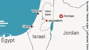 Map: Israel