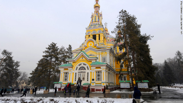 Almaty is home to a mix of architectural styles that support its blossoming experimental arts scene.