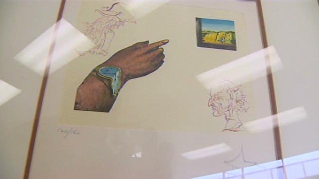 Obra de Dalí donada desconcierta a una organización de beneficencia
