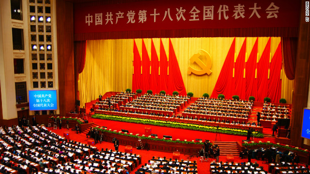 Thousands of members of China's Communist Party are meeting in the immense Great Hall of the People in Beijing's Tiananmen Square. 