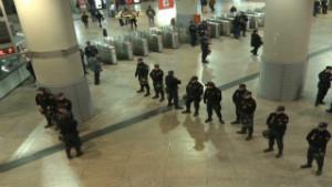 Huelga masiva en España