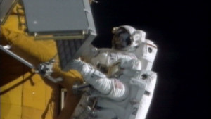 Parkinson's didn't stop space walk