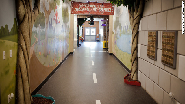 The children's area at Andy Stanley's North Point Community Church. North Point's ability to attract youth is so respected that church leaders across the nation buy North Point books and attend seminars to learn how to reach young people the North Point way.