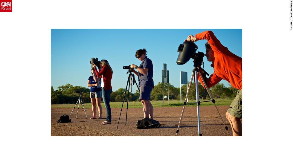 solar eclipse ireport cameras