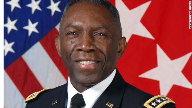 Four-star general demoted for improper spending