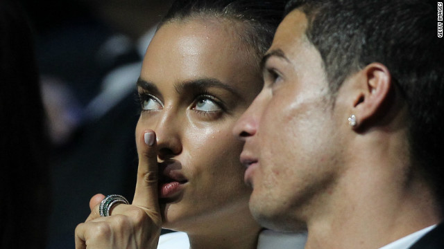 Cristiano Ronaldo and his model girlfriend Irina Shayk enjoy some peace and quiet together but the camera lens is never far away from the pair.