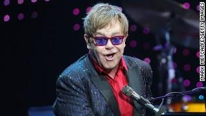 No, Elton John didn\'t sing, \