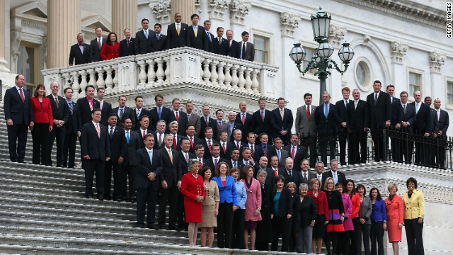 Photo: Freshman House members pose on the Hill
