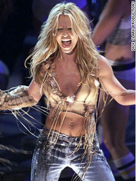 In 2001, Britney Spears performed her hit &quot;Stronger.&quot;
