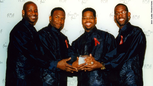 Boyz II Men won favorite soul and R&B new artist in 1992.