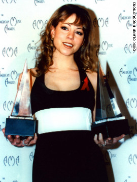 "Mariah Carey won the award for adult contemporary album for ""Unplugged"" in 1993."