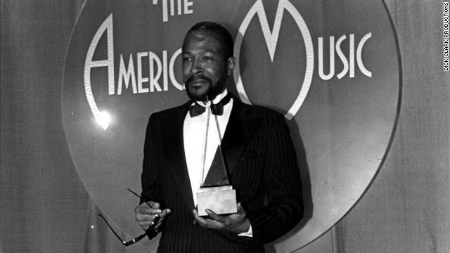"In 1983, Marvin Gaye won favorite soul/R&B single for ""Sexual Healing."""