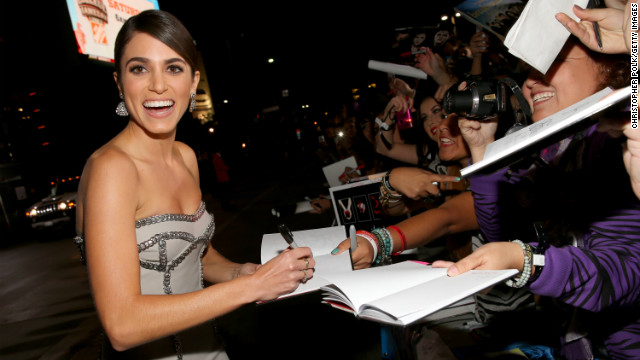 "These days, Nikki Reed is known to ""Twilight"" fans -- who are seen here at the L.A. premiere of ""Breaking Dawn -- Part 2"" on Monday -- as the vampire Rosalie, and in real life as the woman who married ""American Idol"" contestant Paul McDonald."