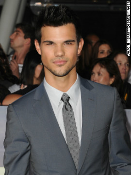 "Lautner has since morphed into a Hollywood heartthrob, and by the time the 20-year-old showed up at ""Breaking Dawn -- Part 2's"" L.A. premiere, he also had an action thriller and an ensemble romantic comedy with his now-ex, Taylor Swift, to his name."