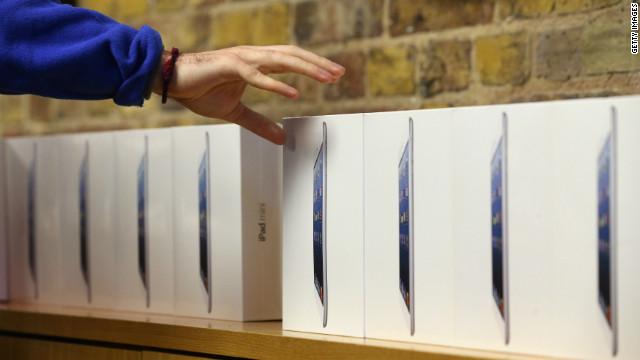 Ladrones se roban 3.600 iPads mini por valor de 1,5 millones de dólares