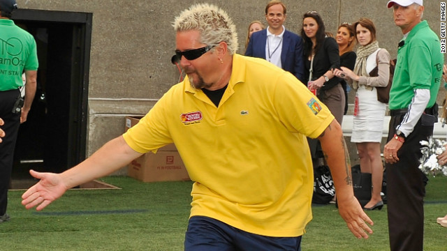 Guy Fieri strikes back at critic who flamed his restaurant
