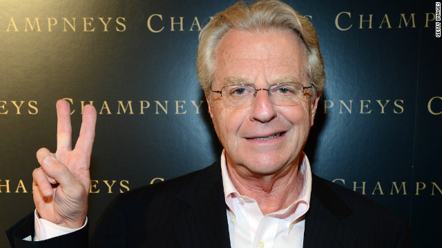 Overheard: Jerry Springer on Petraeus scandal