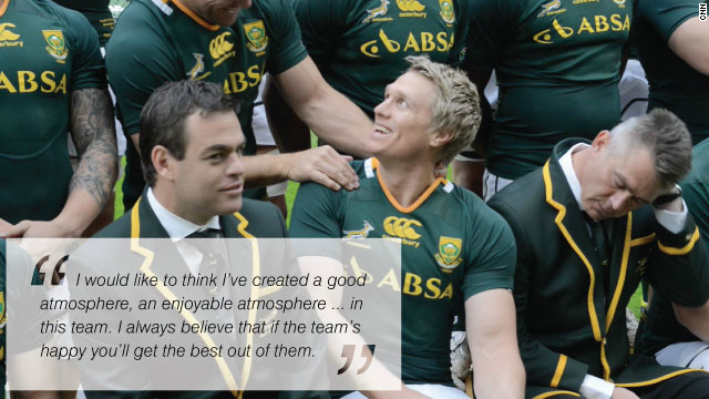 Jean de Villiers Springbok captain 
