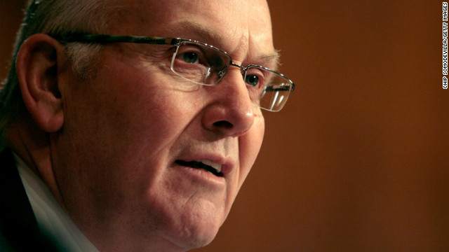 "Former Sen. Larry Craig, R-Idaho, agreed to step down temporarily as the leading Republican on Senate committees after details came out about his 2007 arrest in an airport in Minneapolis, Minnesota. <br/><br/>Picked up during a police sting targeting lewd behavior in the airport's restrooms Craig pleased guilty to a misdemeanor disorderly conduct charge in August 2007. No sexual contact is alleged to have taken place but the officer who arrested the senator said Craig moved his foot to touch the officer's foot in another stall. Craig, who is married, said he did not make any ""inappropriate contact."" He called his guilty plea a ""poor decision"" and denied being gay."