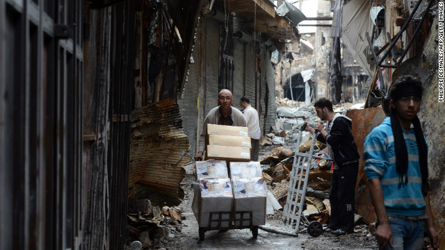 121115125611 syria aleppo 12 november story top Over 37,000 have died in Syrias civil war, opposition group says