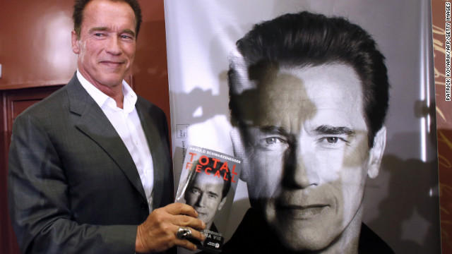 Former actor and California Republican Gov. Arnold Schwarzenegger made headlines in 2011 when his longtime wife, journalist Maria Shriver of the Kennedy clan, filed for divorce after learning Schwarzenegger had fathered a son with the couple's housekeeper. Schwarzenegger recently began talking publicly about the affair, released an autobiography and made a return to acting. He has said he hopes to win Shriver back.