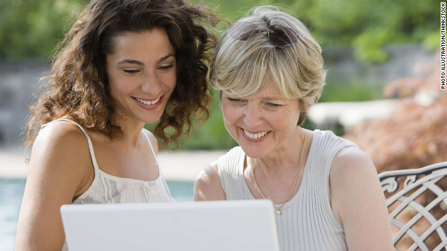 Adult children can help Boomer parents with online dating, which the millennial generation has grown up doing.