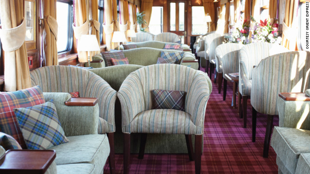 The Royal Scotman's Highland Journey includes stops at the Kingdom of Fife and the Highlands, with nightly tales of Scottish history and whisky tastings.