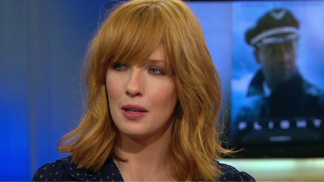 """Actress Kelly Reilly shares her experience filming """"Flight ..."""