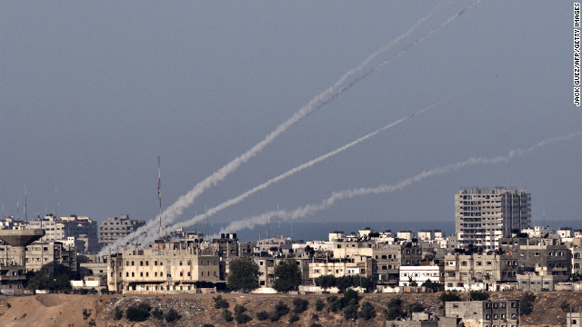 Rockets are fired from Gaza into Israel. The region has been changed forever by the Arab Spring.