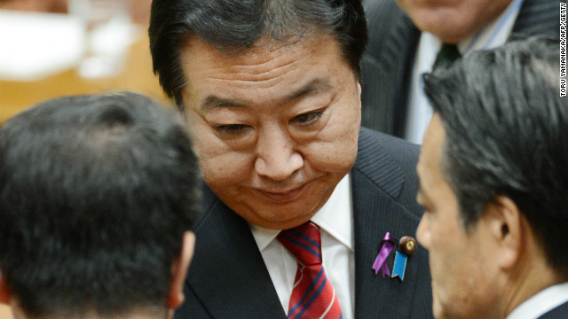 Japan's lower house of parliament is dissolved