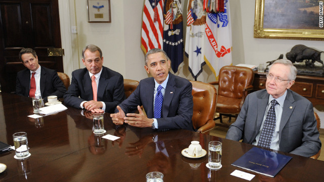 A search for 'common ground': 'Fiscal cliff' negotiations begin