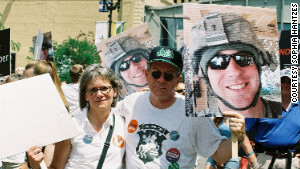 Lori and Jeff Wilfahrt became activists in Minnesota after their son, Cpl. Andrew Wilfahrt, 31, was killed in Afghanistan.