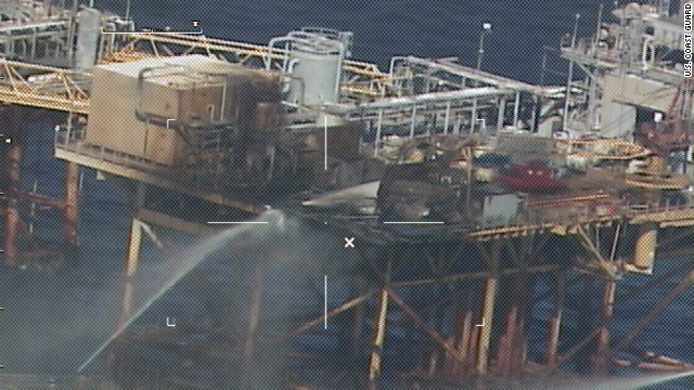 Search for missing oil workers suspended