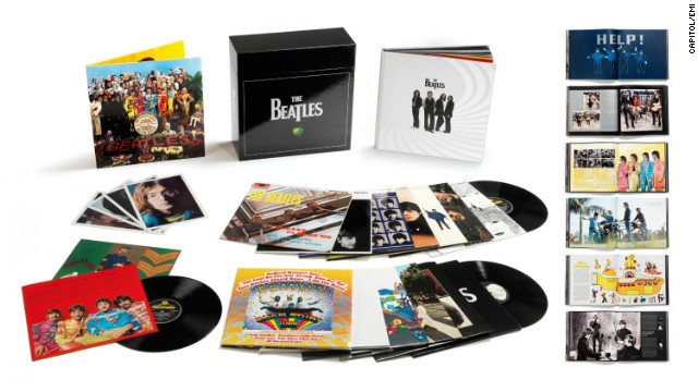 If you're a Beatles completist who didn't receive the Fab Four's albums from a relative -- say one who saw the Beatles at Shea Stadium in 1966 (thanks, Aunt Cheri!) -- or pick them up in a used-record store, you can get them all in one fell swoop. These are based on the remastered 2009 versions, though tweaked for vinyl. (Capitol/EMI, 16 LPs including two double albums)