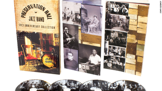 Preservation Hall is a New Orleans institution, a French Quarter jazz club known for its eclectic performers and inexpensive entrance fee. The cornerstone is the Preservation Hall Jazz Band, and on &quot;The Preservation Hall Jazz Band 50th Anniversary Collection&quot; -- compiled and annotated by producer Ben Jaffe (son of founder Allan Jaffe) -- the band's history is detailed on such songs as &quot;His Eye Is on the Sparrow,&quot; &quot;St. James Infirmary&quot; and, of course, &quot;When the Saints Go Marchin' In.&quot; (Sony/Legacy, four CDs)