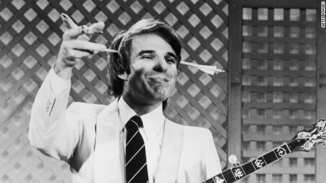 "Once upon a time, Steve Martin was a stand-up comedian. Or, rather, he was the <i>anti-</i>stand-up comedian, with an act full of absurdist gags such as arrows through the head, ""happy feet"" and his bank-robbing cat. Before he gave it up, he made a handful of comedy specials full of wonderful, off-kilter moments. They're collected here, along with his talk-show appearances (the ones with David Letterman are standouts). (Shout! Factory, three DVDs)"