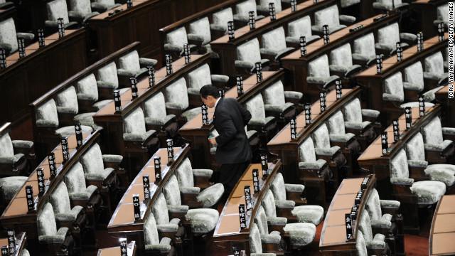El primer ministro de Japón disuelve la Cámara baja del Parlamento