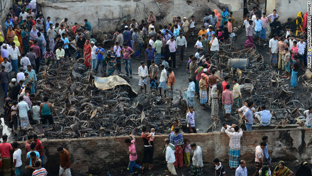 11 dead after fire rips through Bangladeshi slum