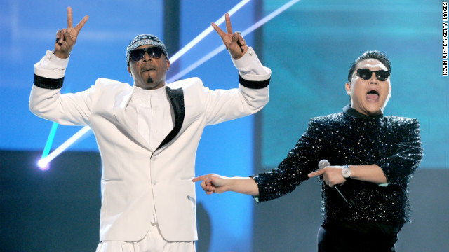 How the Psy/MC Hammer AMAs mash-up came to be