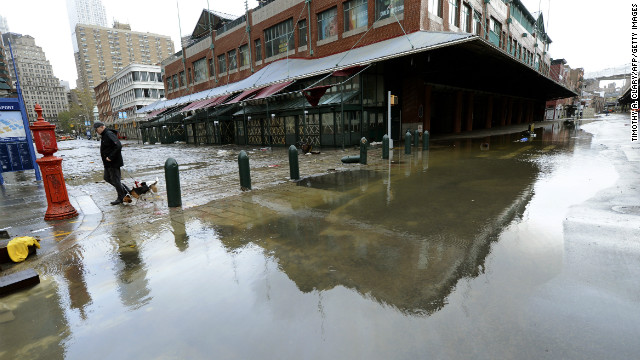 A watering hole for Sandy-weary residents