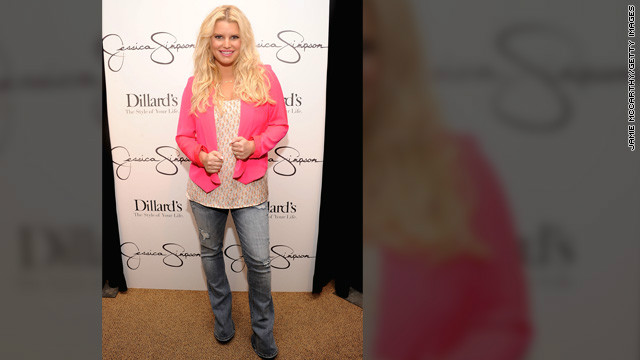 Jessica Simpson shows off slimmer physique