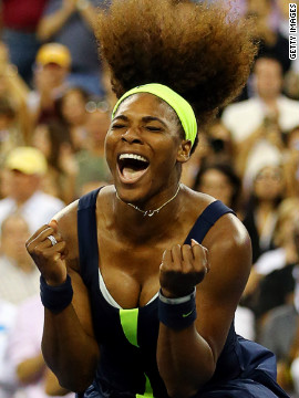 Serena went on to win the final grand slam of the season at the U.S. Open, beating world No. 1 Victoria Azarenka in the final at Flushing Meadows. It underlined what supreme form she was in.