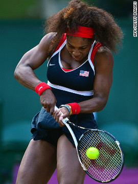 "It is Serena's power and predatory nature on court that can help to give her the edge over her opponents. Outwardly she projects an image of steel but she admits she does get nervous and apprehensive. ""I'm a good actress,"" she says."