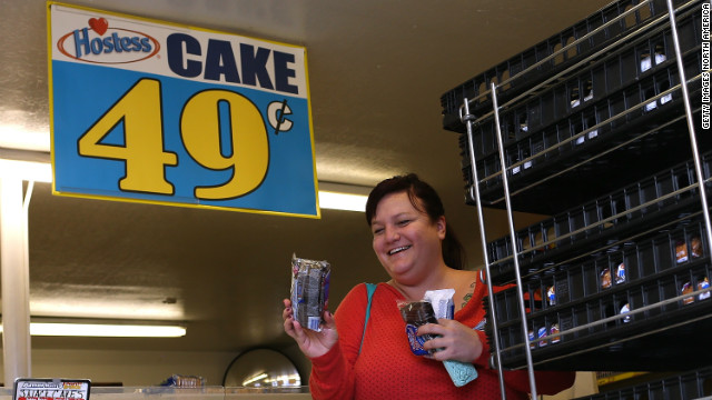 Hold your Hostess – snack cake maker's shutdown is on hold