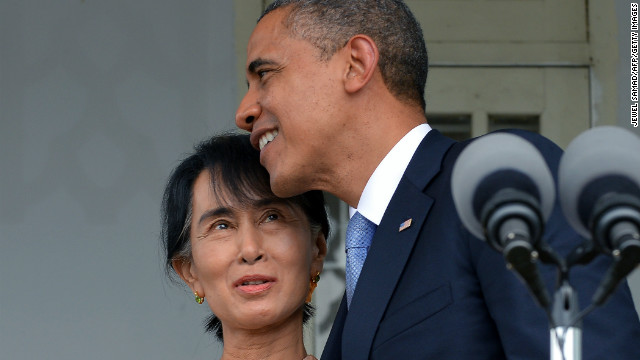 Photos: Myanmar welcomes Obama