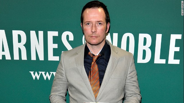 Scott Weiland promoted his new book